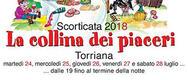 Scorticata 2017: la collina dei piaceri a Torriana di Rimini - DAL 26 AL 28/07/2017